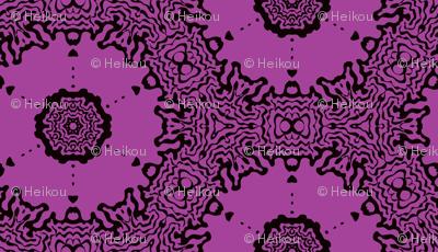 lavender circles
