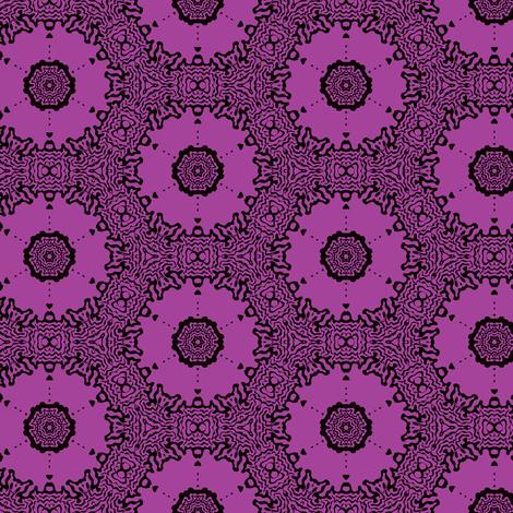 lavender circles fabric by heikou on Spoonflower - custom fabric