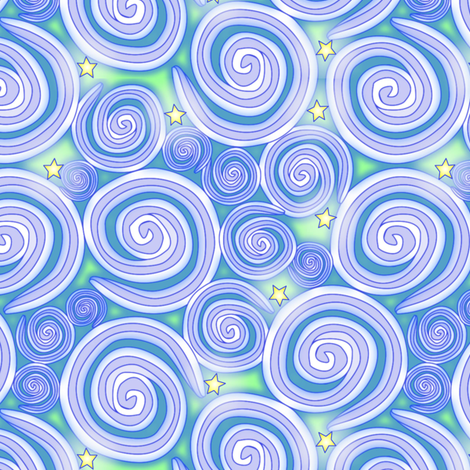 © 2011 starglowsky fabric by glimmericks on Spoonflower - custom fabric