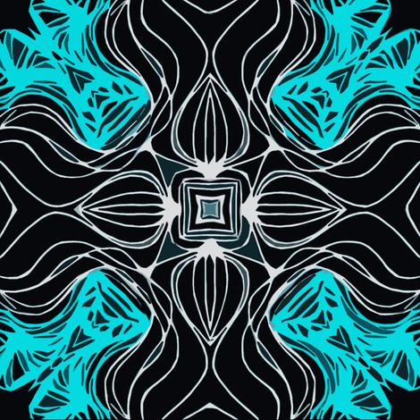 crystal blue fabric by heikou on Spoonflower - custom fabric