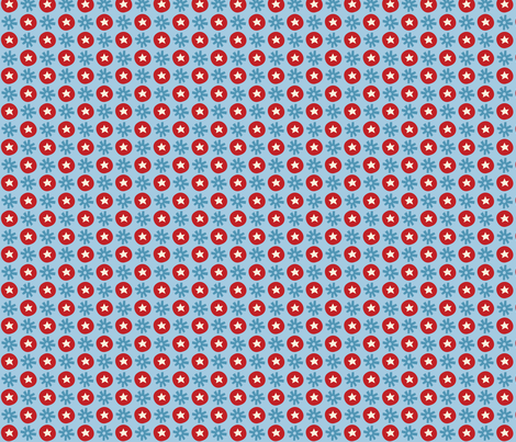 Circus fun for little one! - Dots fabric by bora on Spoonflower - custom fabric