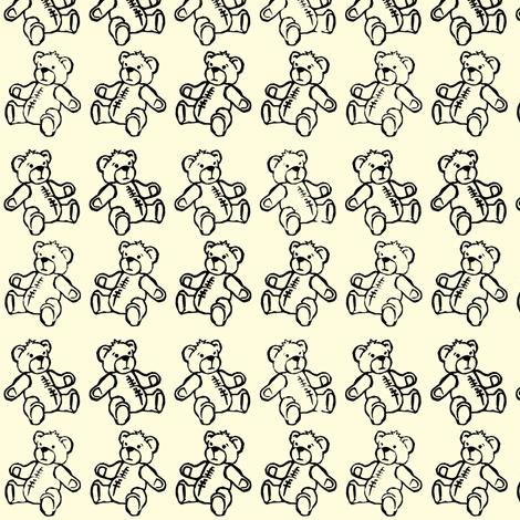 Baby Bear Plaid fabric by woodledoo on Spoonflower - custom fabric