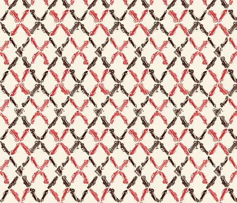 Lil' Cargyle fabric by twobloom on Spoonflower - custom fabric