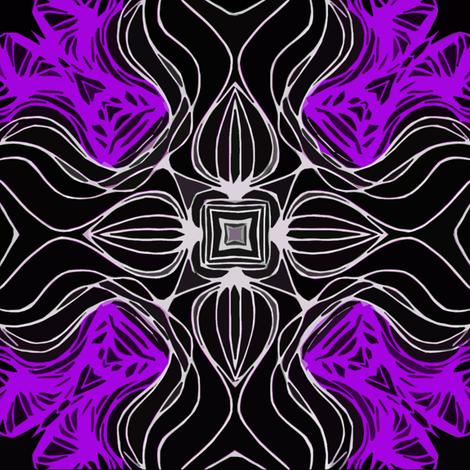 purple cube fabric by heikou on Spoonflower - custom fabric