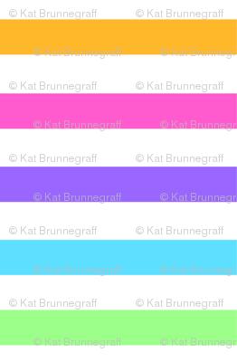 Rainbow Candy Stripes