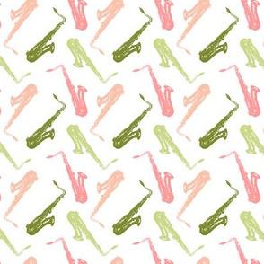 Pastel Saxophones