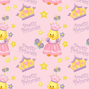 Pretty Princess Duckling Pink