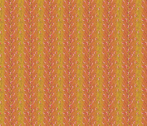 © 2011 theelusivehairpintern - small version fabric by glimmericks on Spoonflower - custom fabric
