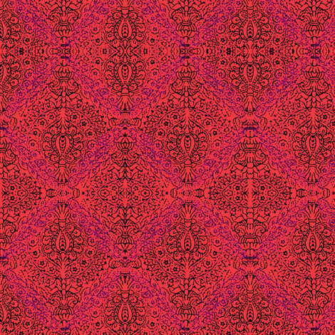 Pink on parade fabric by nalo_hopkinson on Spoonflower - custom fabric