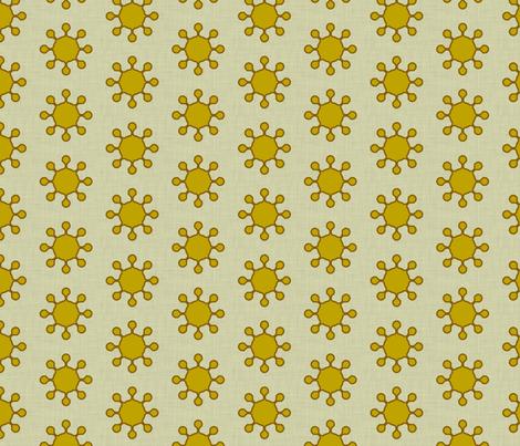 little_suns_linen fabric by holli_zollinger on Spoonflower - custom fabric