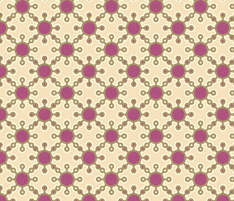 loop_loop_loop_purple fabric by holli_zollinger on Spoonflower - custom fabric