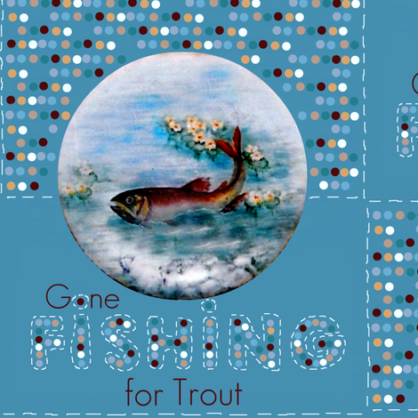 Gone Fishing fabric by paragonstudios on Spoonflower - custom fabric