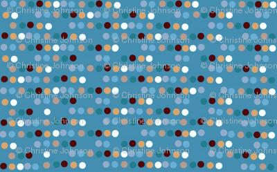 fishing / dots