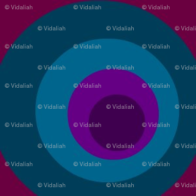 Blue Purple Circle