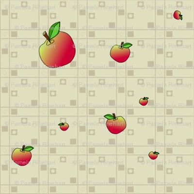 © 2011 An Apple a Day - Companion Apple Fabric