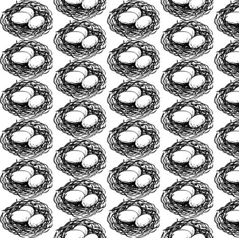 nesting fabric by vo_aka_virginiao on Spoonflower - custom fabric