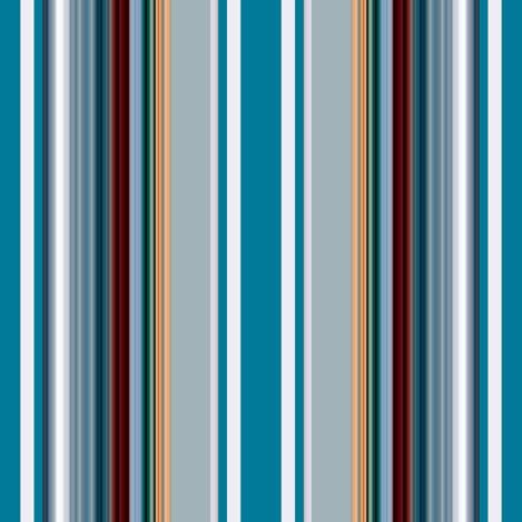 Gone Fishing / stripe fabric by paragonstudios on Spoonflower - custom fabric