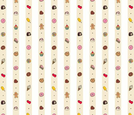 Saccharose Stripe fabric by shirayukin on Spoonflower - custom fabric