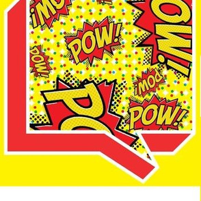 Comic In Blurb - Pow