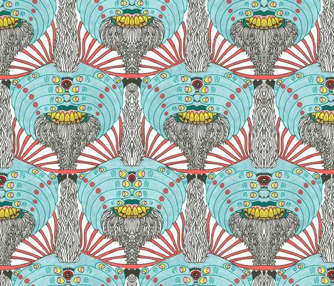 Trippy Trolls! fabric by patternbase on Spoonflower - custom fabric
