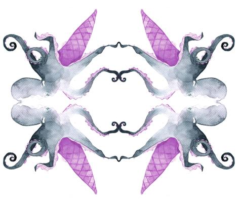 Ice Octo Cream fabric by wiji on Spoonflower - custom fabric