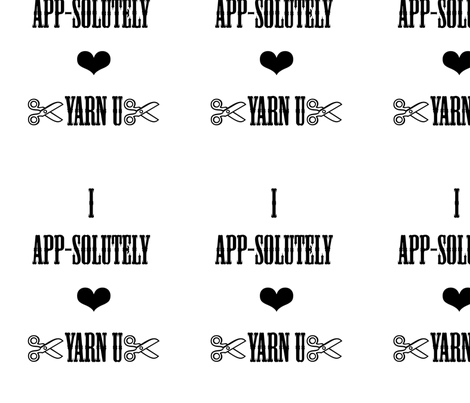 YarnUiPhoneTake3 fabric by mb@yarnuiphoneapp on Spoonflower - custom fabric