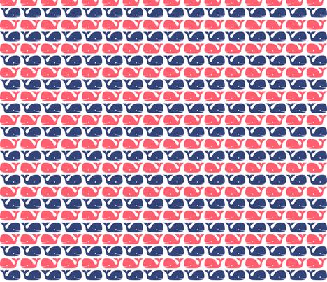 blueandredforspoonflower fabric by raehoekstra on Spoonflower - custom fabric