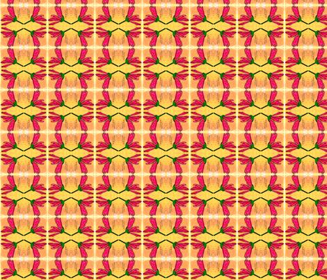 malvasylvestris mirrored part fabric by mimi&me on Spoonflower - custom fabric