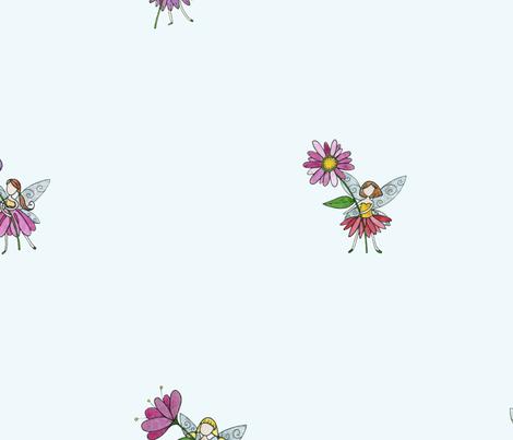 Fairy Fabric fabric by mooncookiegallery on Spoonflower - custom fabric