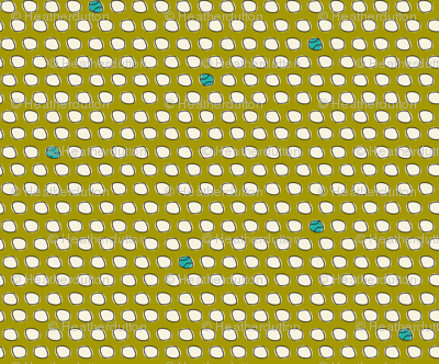 Have A Ball - Baseball Polka Dot Green