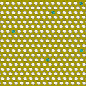 Have A Ball - Baseball Polka Dot Green