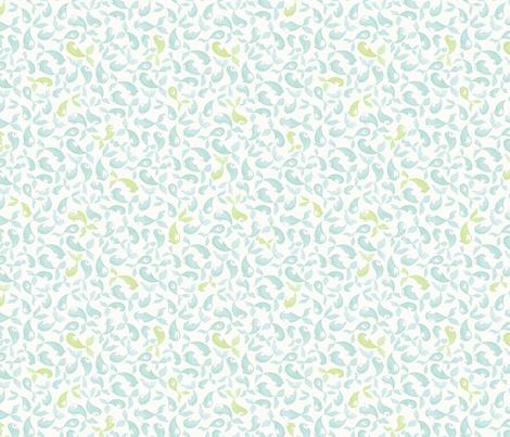Green Fish, Blue Fish fabric by nicoletamarin on Spoonflower - custom fabric