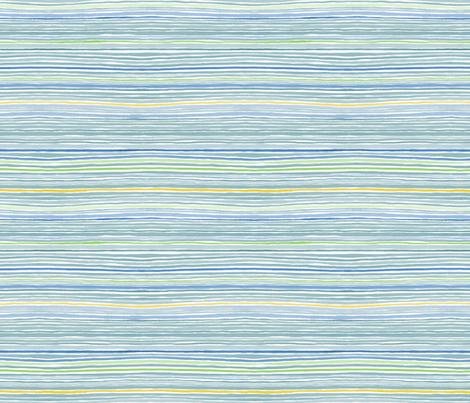 Sailor Multi Stripe fabric by nicoletamarin on Spoonflower - custom fabric