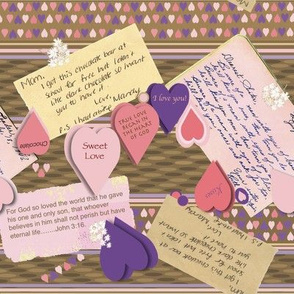 Chocolate, Hearts, Kisses, & Love