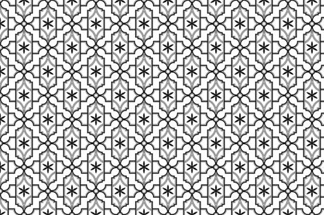 Black Tie fabric by clairicegifford on Spoonflower - custom fabric