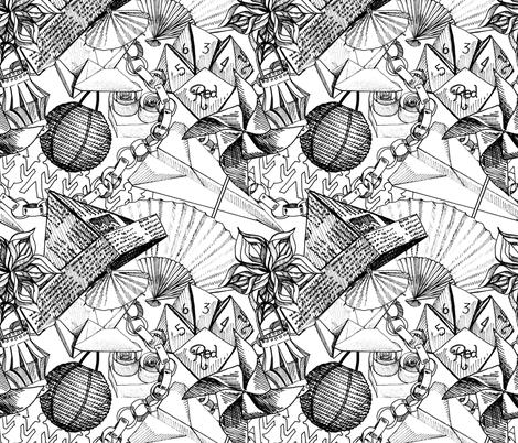 Paper Play fabric by nicoletamarin on Spoonflower - custom fabric