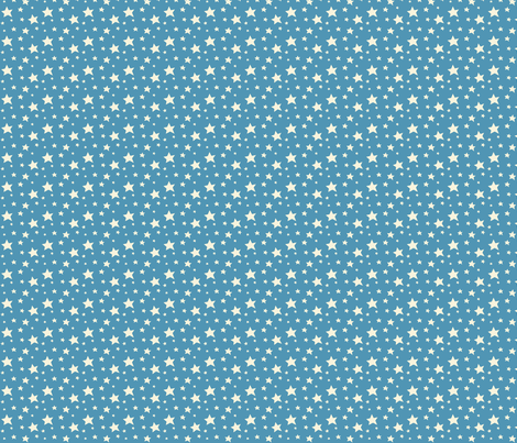 Circus fun for little one! -  Stars in Blue fabric by bora on Spoonflower - custom fabric