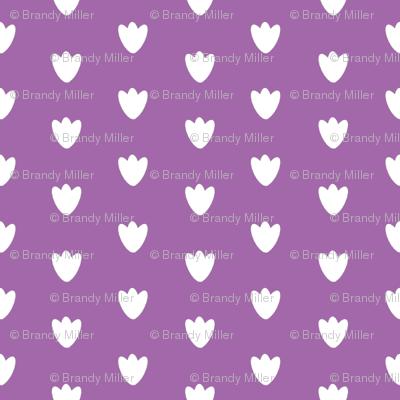 Light Purple Blossom Dots