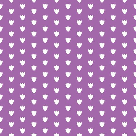 Light Purple Blossom Dots fabric by brandymiller on Spoonflower - custom fabric