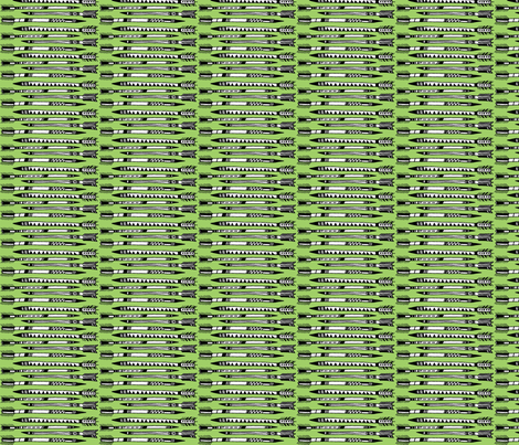 arrows fabric in green fabric by anda on Spoonflower - custom fabric