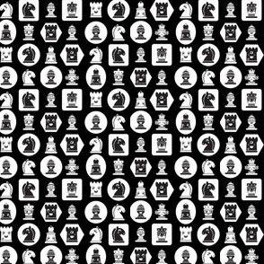 Chess in black