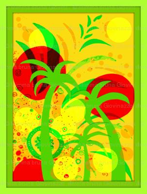 juju's tropical sunset
