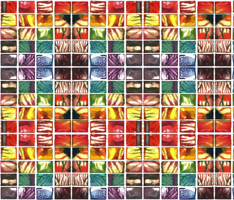 rainbow monoprints fabric by if_you_see_something on Spoonflower - custom fabric