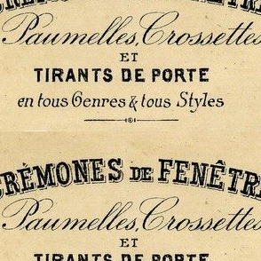 french cremones