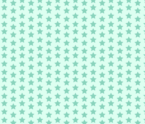 Billy_Goats_3_STAR_blue fabric by fuzzyskyfabric on Spoonflower - custom fabric