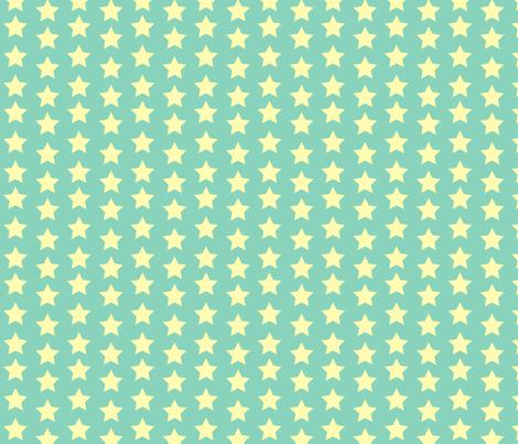 Billy_Goats_3_STAR_yellow fabric by fuzzyskyfabric on Spoonflower - custom fabric