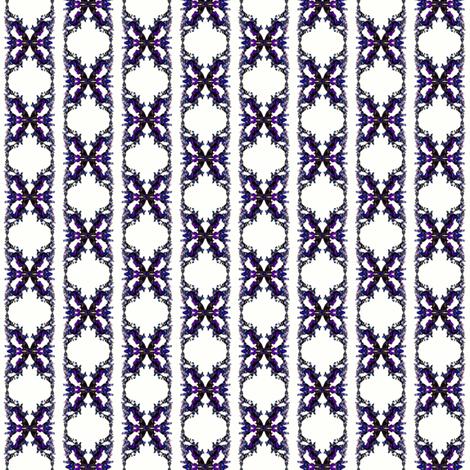 Snapdragon Stripe fabric by mag-o on Spoonflower - custom fabric