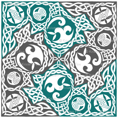 Celtic Puzzle Square