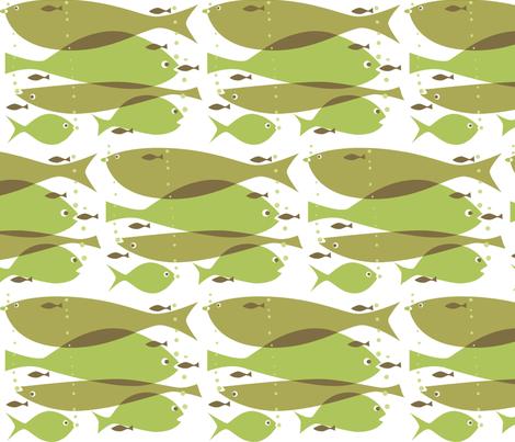 1_fish_2_fish fabric by antoniamanda on Spoonflower - custom fabric