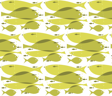yellowfish fabric by antoniamanda on Spoonflower - custom fabric